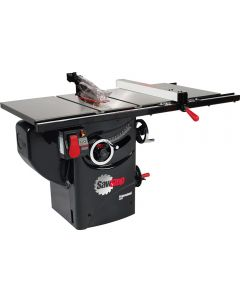 SawStop 3HP Professional Table Saw w/30'' Fence, Rails, and Extension Table