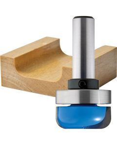 "Rockler Dish Carving Router Bit - 1-1/4"" Dia x 1/2"" H x 1/2"" Shank"