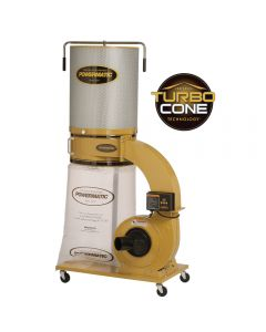 Powermatic PM1300TX-CK Dust Collector, 1.75HP 1PH 115/230V, 2-Micron Canister Kit