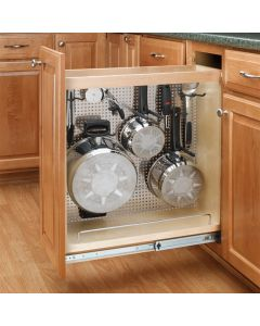 Unit comes fully assembled and includes hooks/pegs for custom organization