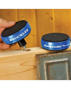 Standard Risers double the height of your Bench Cookie� Plus discs