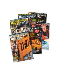1 Year Subscription to Woodworker's Journal Magazine