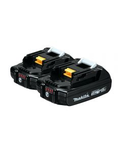 Makita 18V Compact LXT® Lithium-Ion 2.0Ah Batteries, 2-Pack