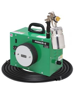 Apollo POWER-5 HVLP Spray System with Bottom-Feed Gun