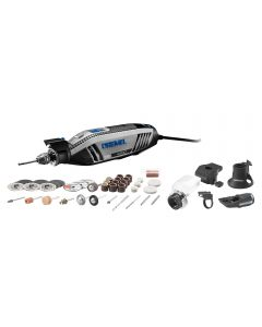 Dremel 4300-5/40 High-Performance Rotary Tool with Universal 3-Jaw Chuck and Accessory Kit
