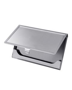Polished Stainless Steel Business Card Holder