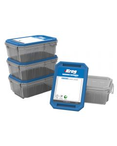 Small Kreg Hardware Containers, 4-Pack