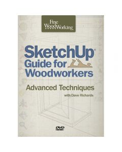 SketchUp Guide for Woodworkers: Advanced Techniques, DVD