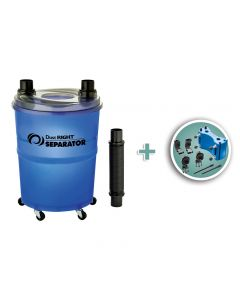 Dust Right® Dust Separator with Vacuum Harness