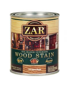 ZAR® Oil-Based Wood Stain, 110 Salem Maple, Quart