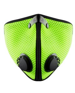 M2 Mesh Face Masks, Safety Green