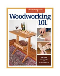 Woodworking 101, Paperback Book