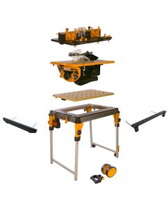 Triton WorkCentre Package with Router Table and Contractor Saw