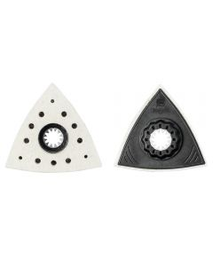 Fein Starlock Triangular Felt Polishing Pads, 2-Pack
