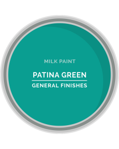 General Finishes Patina Green Milk Paint, Pint