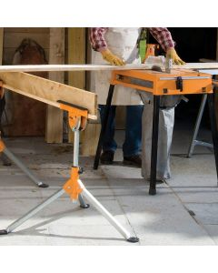 Multi-purpose support stand with extra-wide tripod base for excellent stability on both flat and uneven surfaces.