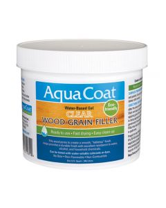 Aqua Coat Clear Wood Grain Filler, Pint