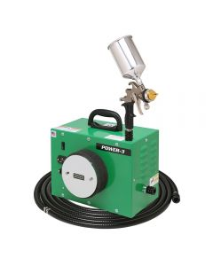 Apollo POWER-3 HVLP Spray System with Gravity-Feed Gun