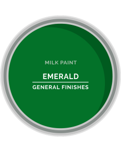 General Finishes Emerald Milk Paint, Pint