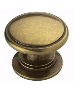 Burnished Brass Hardware Knob