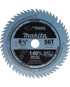 Makita B-57342 6-1/2'' 56T Carbide-Tipped Plunge Saw Blade