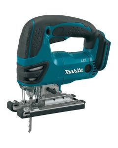 Makita's 18V LXT® Lithium-Ion Cordless Jig Saw (model XVJ03Z, tool only) seamlessly combines precision and power with the lowest overall weight in its class.