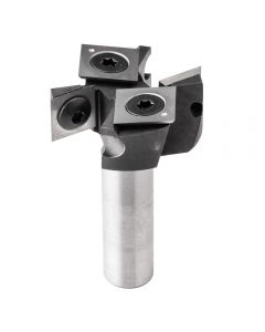 Freud #TM1465 Insert-Style Spoilboard Surfacing Router Bit, 1-1/2'' Dia. x 1/2'' H x 1/2'' Shank