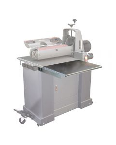 Folding Infeed/Outfeed Tables for SuperMax 19-38 Drum Sander with Closed Stand