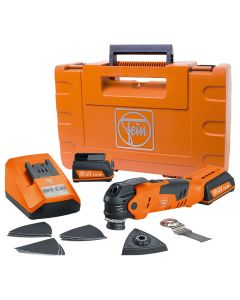 Fein 12V Cordless MultiTalent Oscillating Multi-Tool with Accessory Kit and Case