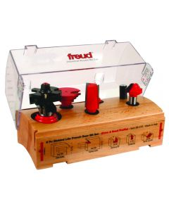 Freud® 98-319 5-Piece French Door Router Bit Set, Cove and Bead