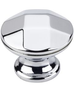 Polished Chrome Drake Geometric Cabinet Knob 1-1/4'' D