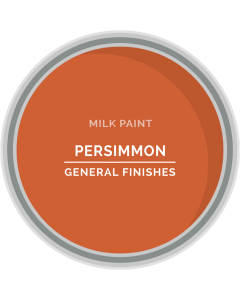 General Finishes Persimmon Milk Paint, Pint