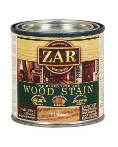 ZAR® Oil-Based Wood Stain, 111 Walnut, Half-Pint