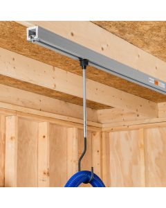 Up to three extension rods may be linked to create an extension of up to 36''.