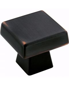 Oil Rubbed Bronze Blackrock Oversized Knob