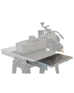 Folding Infeed/Outfeed Tables for SuperMax 16-32 Drum Sander