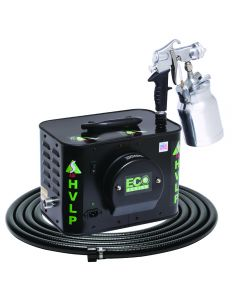 Apollo ECO-5 Five-Stage HVLP Spray System with E5011 Bleeder Spray Gun
