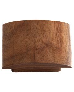 Walnut Concave Knob,32mm CTC