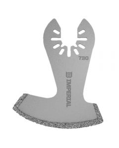 Universal-Fit Multi-Tool Blade, Diamond-Coated Segment Boot, 1-Pack