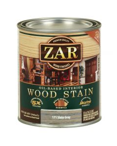 ZAR Oil-Based Wood Stain, 171 Slate Gray
