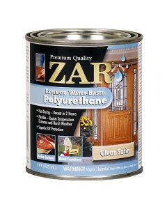 ZAR® Exterior Water-Based Polyurethane, Satin, Pint
