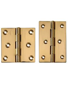 "Fixed Pin Extruded Hinges 2-1/2"" L x 2-1/2"" W"