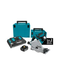 Makita XPS01PTJ 18V X2 Brushless Cordless 6-1/2'' Plunge-Cut Circular Saw Kit