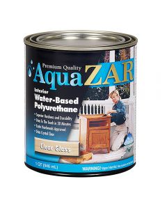 Aqua ZAR® Water-Based Polyurethane, Gloss, Quart