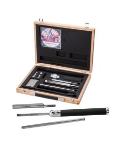 Robert Sorby Sovereign Deluxe 6-Piece Turning Tool Set with Case