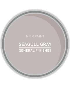 General Finishes Seagull Gray Milk Paint, Pint