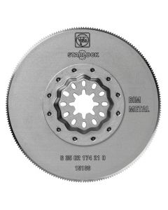 Fein Starlock 3-11/32'' Round Bi-Metal Flush-Cut Saw Blade, 1-Pack