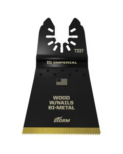Universal-Fit Multi-Tool Blade, 2-1/2'' Wood w/Nails, STORM Bi-Metal TiN, 1-Pack