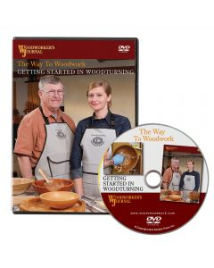 Woodworker's Journal Getting Started in Woodturning DVD