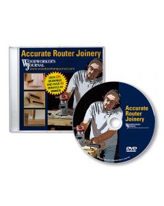 Woodworker's Journal Accurate Router Joinery, DVD-ROM